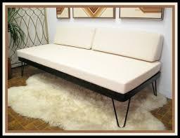 vintage danish modern mid century daybed sofa hairpin legs tony