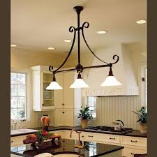 country style kitchen with island pendant brass light gallery