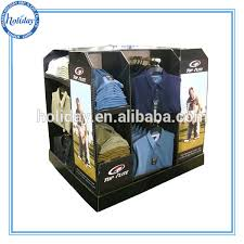 Portable T Shirt Floor Display Stand For Shirts