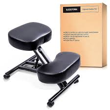 Ergonomic Office Kneeling Chair For Computer Comfort by Amazon Com 3 Pcs Sleekform Ergonomic Kneeling Chair Adjustable