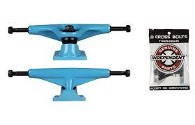 TENSOR Skateboard Trucks Magnesium Blue 5.75 8.37