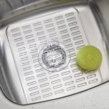 Rubbermaid Sink Protector Clear by Amazon Com Sink Mat Small Crystal Clear Pvc Sink Protector By