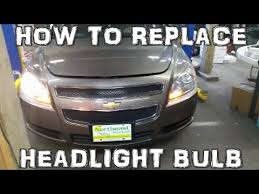 2008 2012 chevy malibu headlight bulb replacement fast and easy