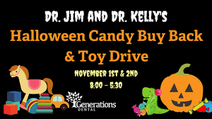 Operation Gratitude Halloween Candy Buy Back by Halloween Candy Buy Back U0026 Toy Drive Generations Dental