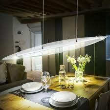 20 watt led chrom design pendel leuchte glas esszimmer loft
