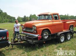 1958 Chevrolet Truck - Hot Rod Network 1958 Chevrolet 3800 For Sale 2066787 Hemmings Motor News Spartan Truck Pictures 31 Apache Pick Up Wow Sale Classiccarscom Cc1038240 Chevy Pickup Something Sinister Truckin Magazine 2065258 Restoration On Connors Motorcar Company 195558 Cameo The Worlds First Sport