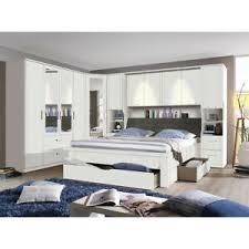 details zu schlafzimmer set lindau kleiderschrank bett bettbrücke in weiß mit spiegel