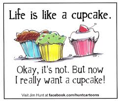9 Joke Of The Day Cupcakes Photo