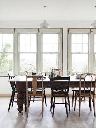 Rustic Dining Room Ideas Pinterest by Best 25 Mixed Dining Chairs Ideas On Pinterest Mismatched