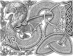 Celtic Dragon By Lariethenedeviantart On DeviantArt