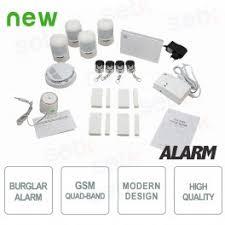 al kit4w gen1 antivol alarme pour la maison sans fil complet gsm