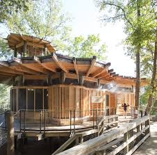 100 Treehouse In Atlanta Camp Twin Lakes Treehouse Lord Aeck Sargent ArchDaily