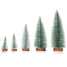 Christmas Desktop Miniature Small Pine Tree Tabletop Decoration Decorations Toppers 20