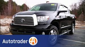100 Used Truck Values Nada 20072010 Toyota Tundra Car Review AutoTrader YouTube