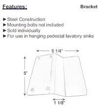 Barclay Pedestal Sink 460 by Barclay Porcelain Regular And Corner Pedestal Sinks