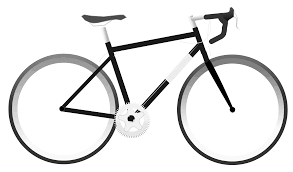 Simple Bike Clipart Transparent PNG