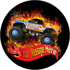Hot Wheels Monster Truck Personalised Edible Cake Image | The Monkey ... Hot Wheels Trackin Trucks Speed Hauler Toy Review Youtube Stunt Go Truck Mattel Employee 1999 Christmas Car 56 Ford Panel Monster Jam 124 Diecast Vehicle Assorted Big W 2016 Hualinator Tow Truck End 2172018 515 Am Mega Gotta Ckc09 Blocks Bloks Baja Bone Shaker Rad Newsletter Dairy Delivery 58mm 2012 With Giant Grave Digger Trend Legends This History Of The Walmart Exclusive Pickup Series Is A Must And