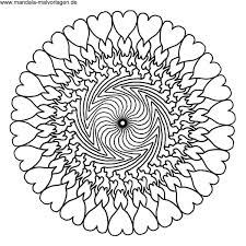 Dragonfly Mandala Colouring Page By Angela Porter