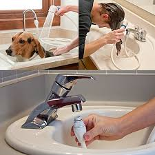 rinse ace sink faucet rinser with detachable 3 hose bed bath