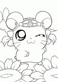 Anime Girl Coloring Page Wwwazembrace Animals Pages