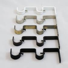 Ceiling Mount Curtain Track India by Curtain Rod Brackets Ebay