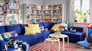 funktionelles wohnzimmer mit schlafplatz ikea schweiz