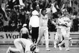 Imran Khan In The 92 World Cup 27 March 1992