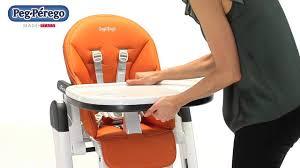 Peg Perego High Chair Siesta by Peg Perego Siesta High Chair Youtube
