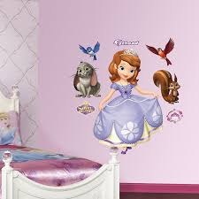 Fathead Baby Wall Decor by Amazon Com Fathead Sofia The First Graphic Wall Décor Home U0026 Kitchen
