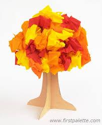 3D Fall Paper Tree