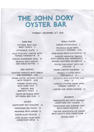 The Breslin Bar And Dining Room Menu by The John Dory Oyster Bar Gastro Chic
