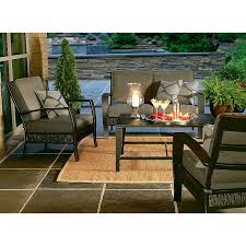 Ty Pennington Patio Furniture Cushions by Halston Conversation Set Replacement Cushions Garden Winds