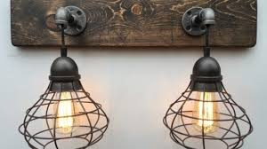 Mesmerizing Rustic Bathroom Vanity Lights Fivhter Com At