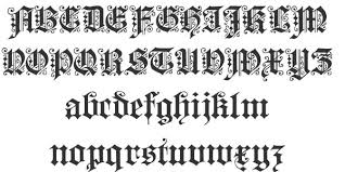 113 Free Tattoo Fonts 1001