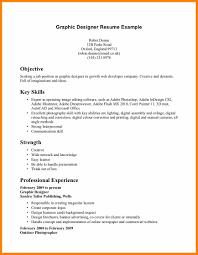 Graphic Design Resume Example Designer