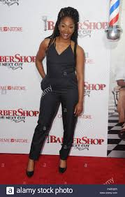 6th Apr 2016 Tiffany Haddish Arrivals For The Los Angeles Premiere Of Barbershop Next Cut Held At TCL Chinese Theater