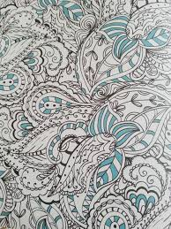 Page Anti Stress Inky Inspirational Coloring Book