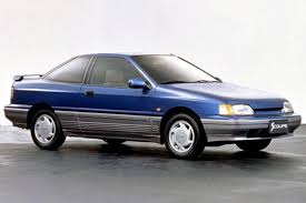 The Hyundai Scoupe Was Hyundai s First Attempt at a Sporty Car
