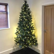 Artificial Christmas Trees Uk 6ft by Christmas Factory Hudson Artificial Christmas Tree With Led Lights