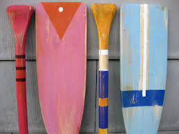 Decorative Wooden Oars And Paddles by Oar Art