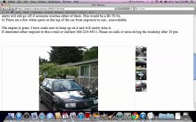 Craigslist Olympic Peninsula Washington - Used Cars For Sale By ...
