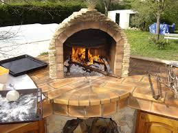 four a pizza exterieur four à bois artisanal et écologique pizza