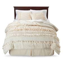 Lush Decor Serena Bedskirt by Belle Ruffle Comforter Set 4 Piece Lush Decor Target