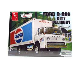 Ford C-600 City Delivery Truck AMT 804 1/25 New Plastic Model Truck ...