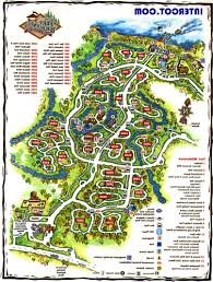 Fort Wilderness Cabins Map