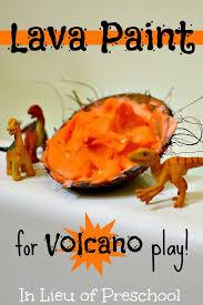 Dinosaur Volcano Small World Play In The Bath