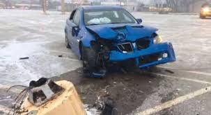 Ohio Man Drifts Just-Bought Pontiac G8 Into Pole, Sends Himself And ...