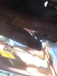 2006 Cadillac DTS Rims Peeling