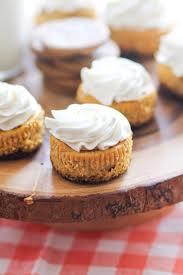 Pumpkin Cheesecake Gingersnap Crust Food Network by Mini Pumpkin Cheesecakes