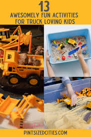 13 Awesomely Fun Activities For Truck Loving Kids ~ Pint-Sized Cities
